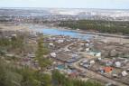 Blick über Jakutsk