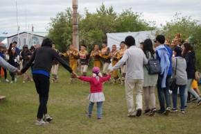 Rundtanz tanzen